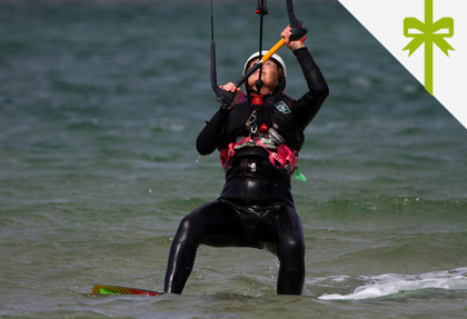 GET WET UPGRADE Melbourne Kitesurfing Lesson